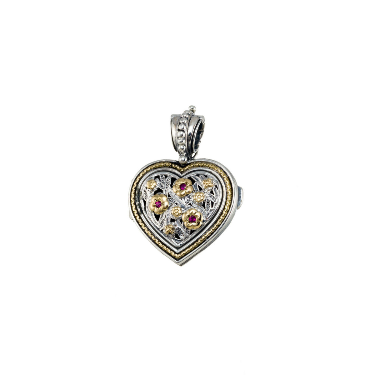 Ιδιαίτερο μενταγιόν-θήκη για φωτογραφίες σε σχήμα καρδιάς