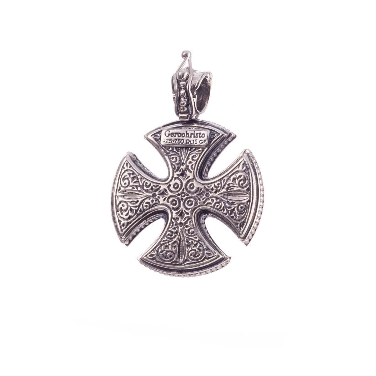 Χειροποίητος Βυζαντινός σταυρός Gerochristos
